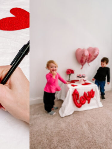 Valentine's Day Party for Your Toddler on a Budget