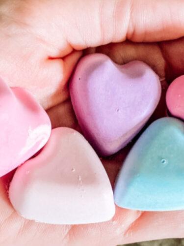 D.I.Y Heart Chalk